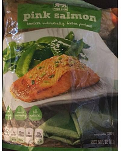 Food Lion Pink Salmon - 112 g