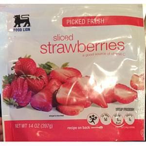 Food Lion Sliced Strawberries