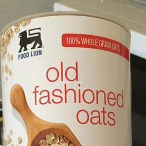Food Lion Old Fashioned Oats