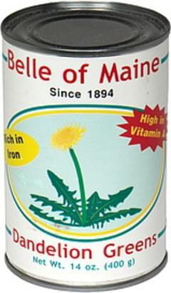 Belle of Maine Dandelion Greens