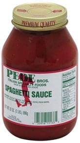 Pede Brothers Spaghetti Sauce