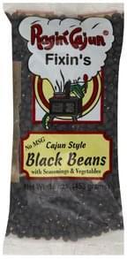 Ragin Cajun Black Beans Cajun Style