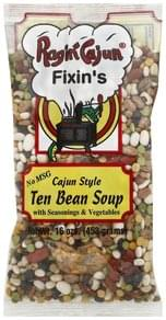 Ragin Cajun Bean Soup Ten, Cajun Style