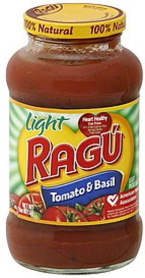 Ragu Tomato & Basil Pasta Sauce - 23.9