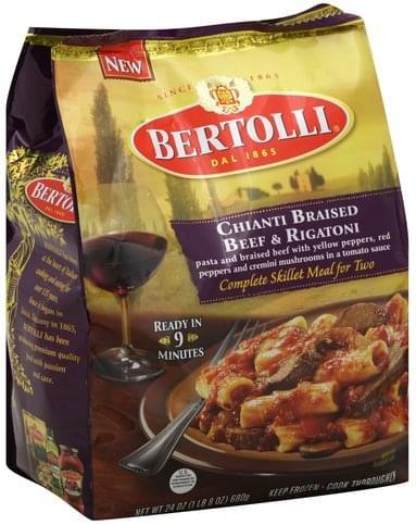 Bertolli Chianti Braised Beef & Rigatoni - 24 oz