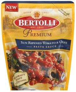 Bertolli Pasta Sauce Sun Ripened Tomato & Olive