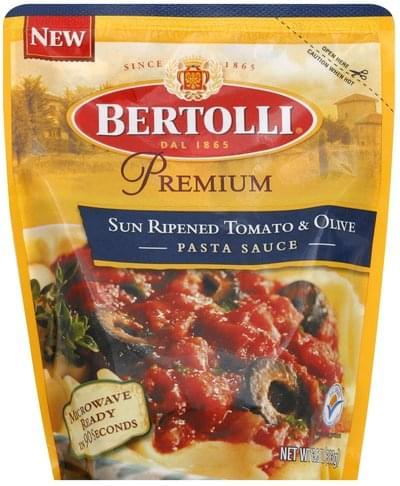 Bertolli Sun Ripened Tomato & Olive Pasta Sauce - 13.5 oz