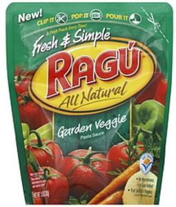 Ragu Pasta Sauce Garden Veggie