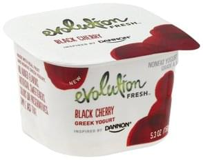 Evolution Fresh Yogurt Greek, Nonfat, Black Cherry