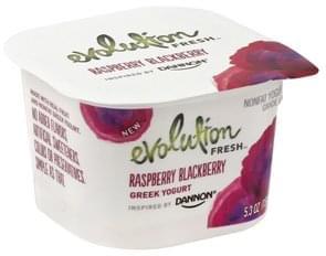 Evolution Fresh Yogurt Greek, Nonfat, Raspberry Blackberry