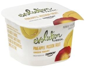 Evolution Fresh Yogurt Greek, Nonfat, Pineapple Passion Fruit