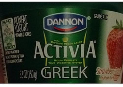Dannon Activia Strawberry Greek Nonfat