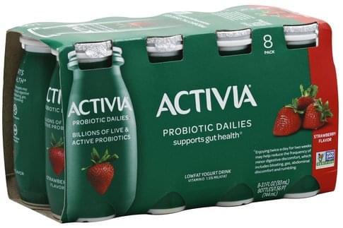 Activia Lowfat, Strawberry Flavor
