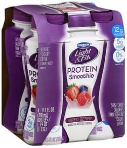 Light & Fit Protein Smoothie Mixed Berry