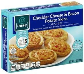 @ease Appetizer Cheddar Cheese & Bacon Potato Skins