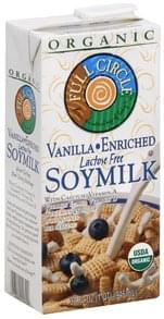 Full Circle Soy Milk Soymilk, Vanilla Enriched