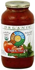 Full Circle Pasta Sauce Tomato Basil