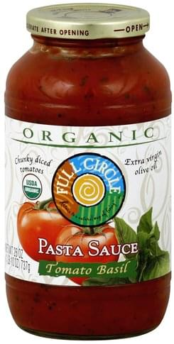 Full Circle Tomato Basil Pasta Sauce - 26 oz