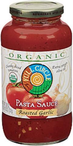 Full Circle Pasta Sauce Roasted Garlic Organic