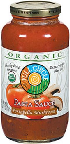 Full Circle Pasta Sauce Portabella Mushroom Organic