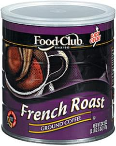 Food Club Coffee French Roast Ground