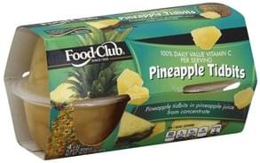 Food Club Pineapple Tidbits
