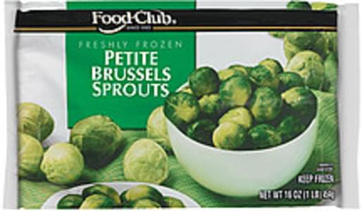 Food Club Brussels Sprouts Petite