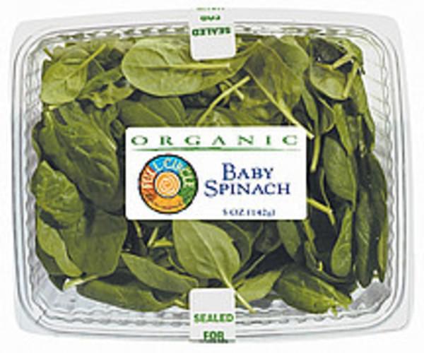 Full Circle Organic Baby Spinach - 5 oz