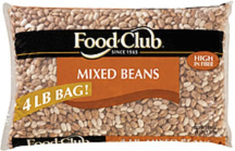 Food Club Mixed Beans - 4 lb