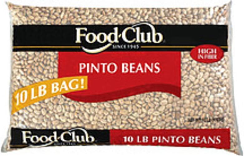 Food Club Pinto Beans - 10 lb