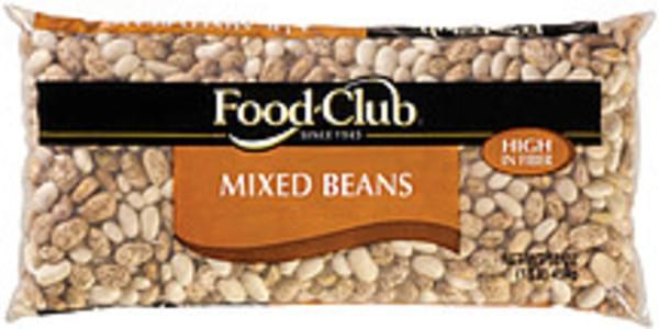 Food Club Beans Mixed
