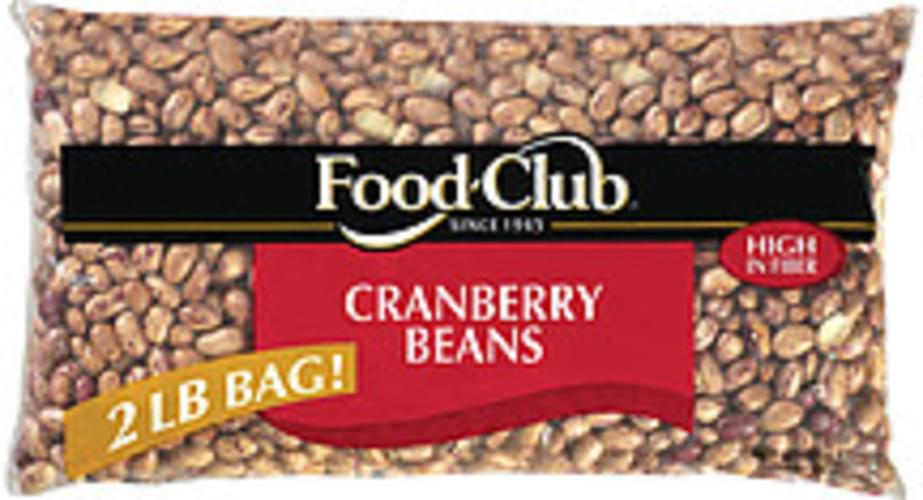 Food Club Cranberry Beans - 2 lb
