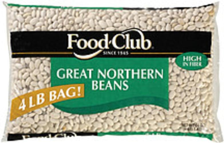 Food Club Great Northern Beans - 4 lb