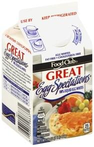 Food Club 100% Liquid Egg Whites