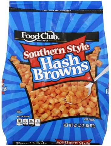 Food Club Southern Style Hash Browns - 32 oz