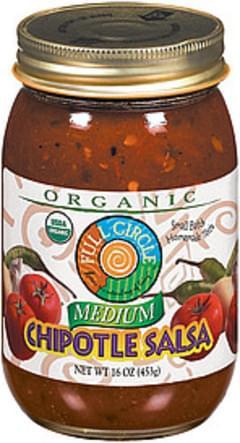 Full Circle Salsa Organic Chipotle Medium