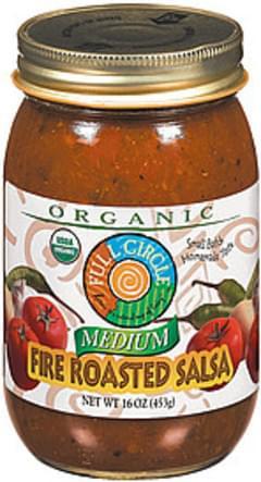 Full Circle Salsa Organic Fire Roasted Medium