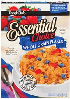 Food Club Cereal Essential Choice Whole Grain Flakes