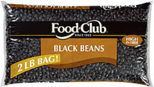 Food Club Beans Black
