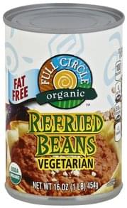Full Circle Refried Beans Fat Free, Vegetarian