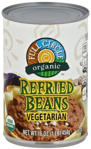 Full Circle Vegetarian Refried Beans - 16 oz