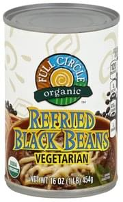 Full Circle Refried Black Beans