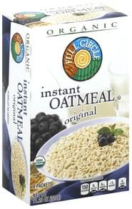Full Circle Oatmeal Instant, Original