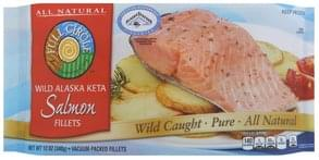 Full Circle Salmon Wild Alaska Keta, Fillets