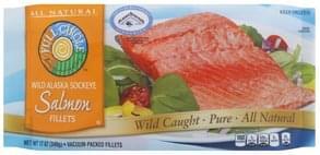 Full Circle Salmon Wild Alaska Sockeye, Fillets