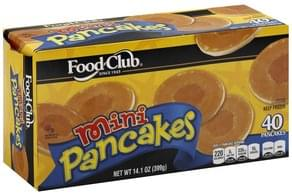 Food Club Pancakes Mini