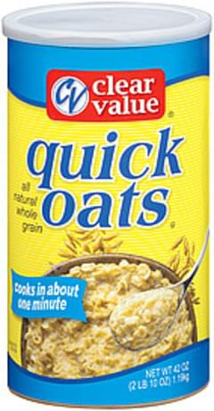 Clear Value Quick Oats