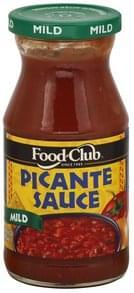 Food Club Picante Sauce Mild