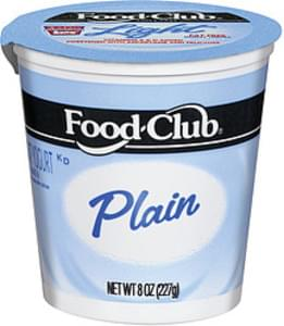 Food Club Yogurt Nonfat Plain
