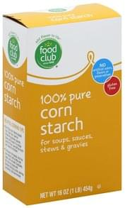 Food Club Corn Starch 100% Pure